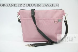 Organizer do wózka TAKEme! Light Pink