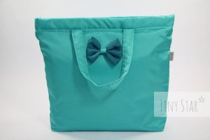 Torba shopper TAKEme! Mint & dark turquise